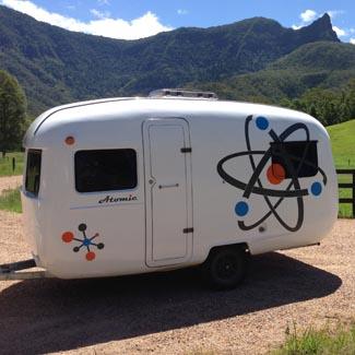 Sunliner caravan for hire