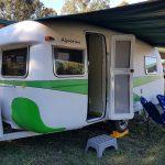 Mullumbimby Vintage Caravan Hire Aquarius