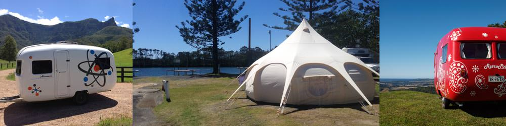 Northern rivers camping with RetroPod