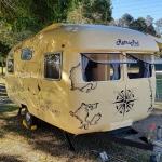 Brunswick Heads Vintage Caravan Hire Voyager