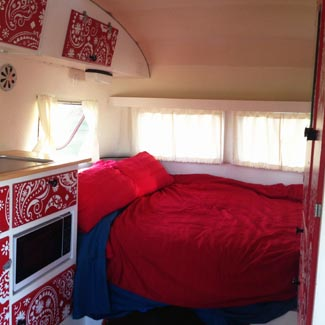 super comfortable camping hire